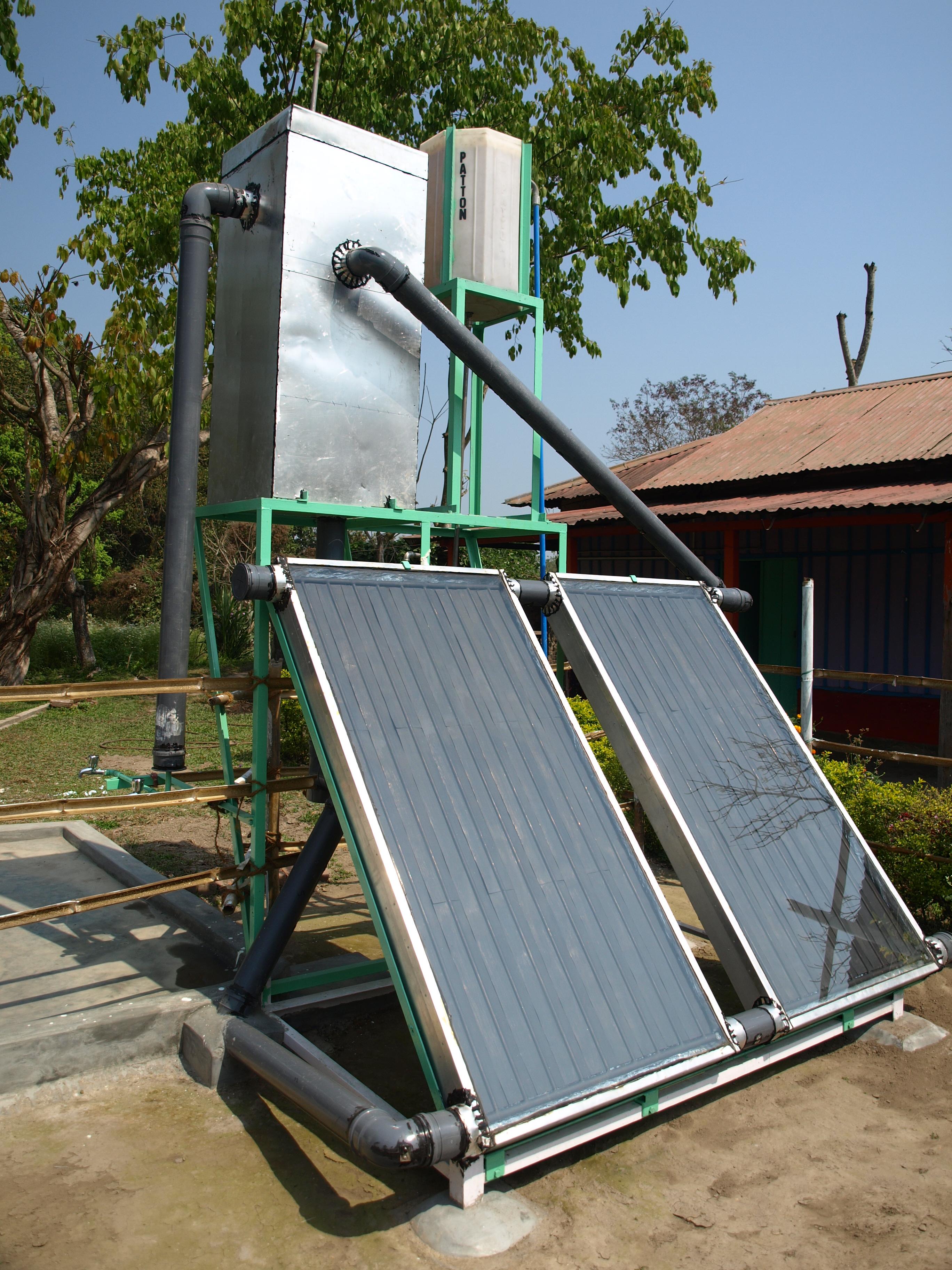 Système au chaude solaire