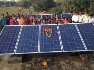 Inauguration installation PV sur ecole Mogradangi